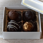 Custom Chocolate Business Gifts (4 piece)