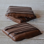 Chocolate Dipped Graham Crackers